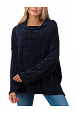 Oversized Long Sleeve Pullover Sweater
