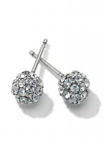 Chara Ellipse Post Earrings