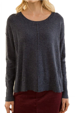 Sprinkled Easy Pull Over Sweater