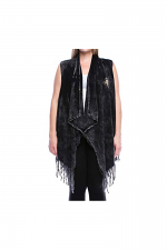 Vest With Cross Detail
