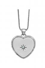 Bright Morning Star Locket Necklace