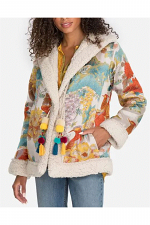 Peoney Jacquard Coat