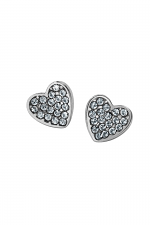 Chara Heart Post Earrings