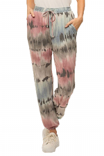 Tie Dye French Terry Cozy Jogger Pants