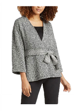 Handwoven Peruvian Organic Cotton Kimono Jacket