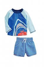 Shark Rash Guard Set