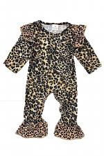 Cheetah Baby Romper