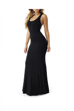 Maile Maxi Dress in Black