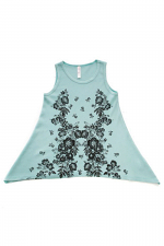 Kids Tank Top With Stones