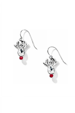 Reindeer Rock French Wire Earrings