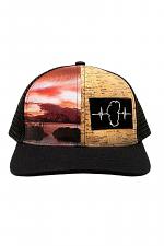 Cork Hybrid Summer Sunset Hat