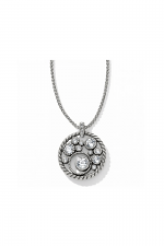 Halo Necklace in Silver