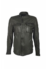 Cove Black Leather Jacket