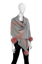 Knitted Camouflage Scarf