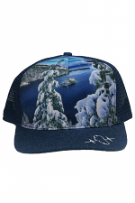 Emerald Bay Snow Mesh Back Hat