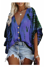 Casual Basic Classic Bell Sleeve Top