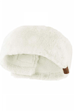 Soft Faux Fur Feel Sherpa Lined Ear Warmer Headband Headwrap