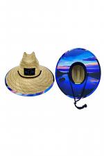 Emerald Bay Sunrise Straw Hat