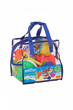 Summer Play 8 Piece Beach Tote & Toy Set