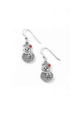 Lil Snowman French Wire Earrings