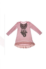 Kids Long Sleeve Top with Dreamcatcher
