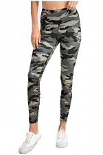 Camo Wide Waist Band Legging