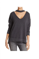 Sofie Cutout-neck Sweatshirt