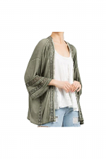 Cardigan With Bell Sleeve