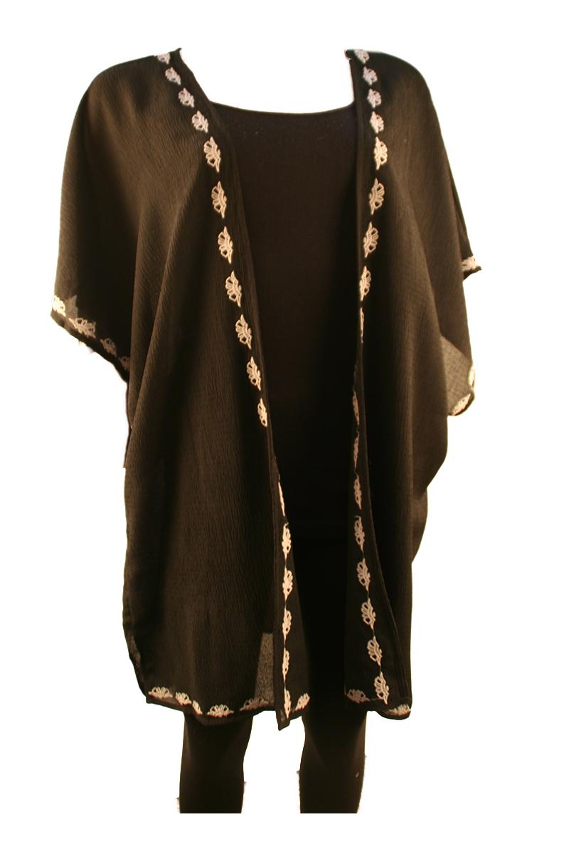 Dolman Sleeve Open Kimono
