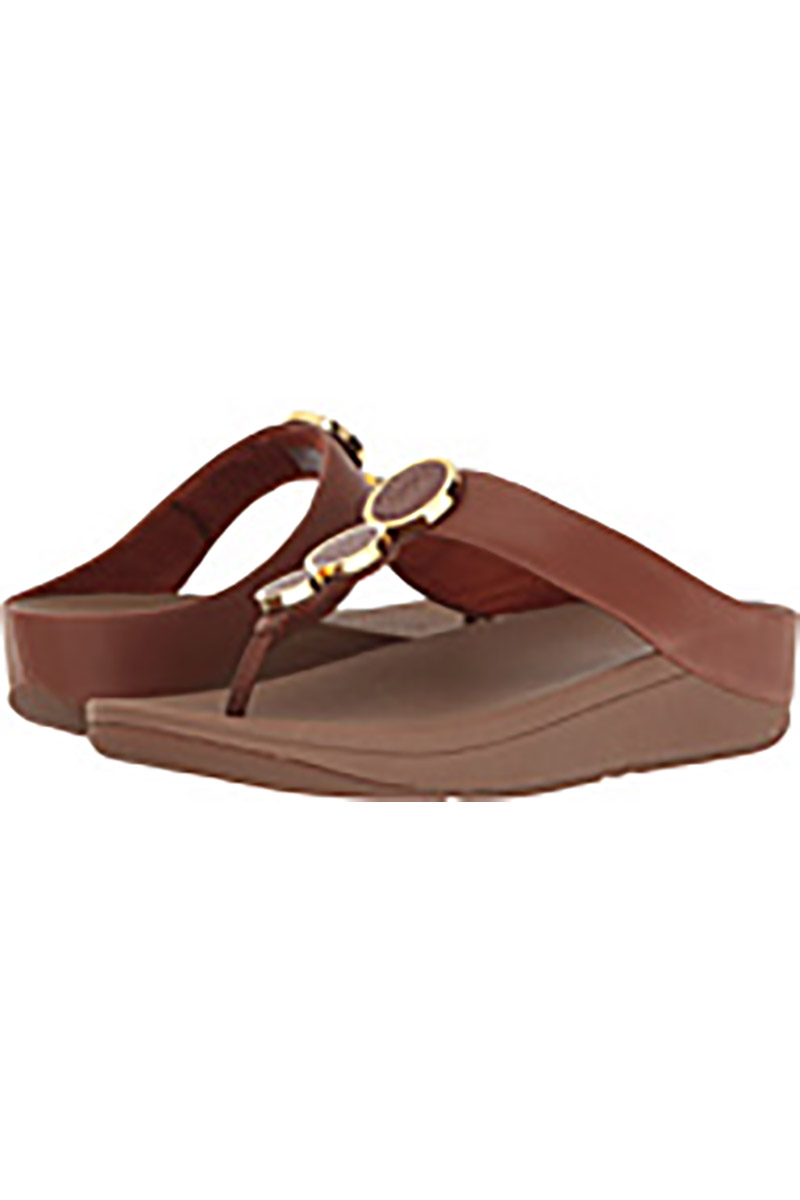 Halo Toe Thong Sandal in Rose Gold