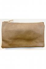 Folded Clutch with Zipper