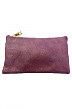 Folded Clutch with Zipper
