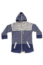 Striped Hoodie with Stripes