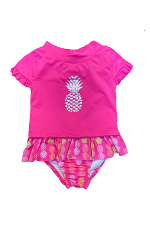 2 Piece Swimsuit with Pineapple