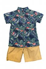 2 Piece Tropical Short Set