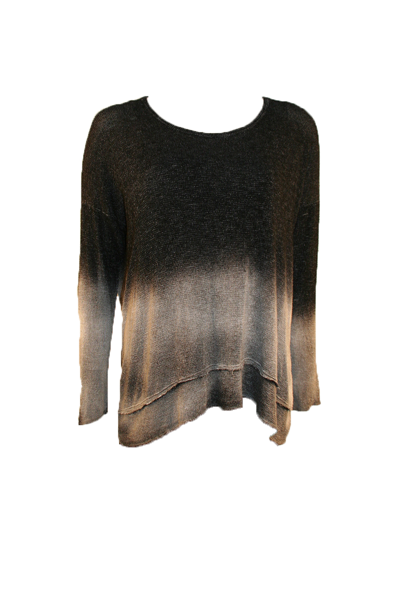 L/S Open Back With Twist
