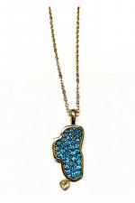 Lake Tahoe Pendant Necklace