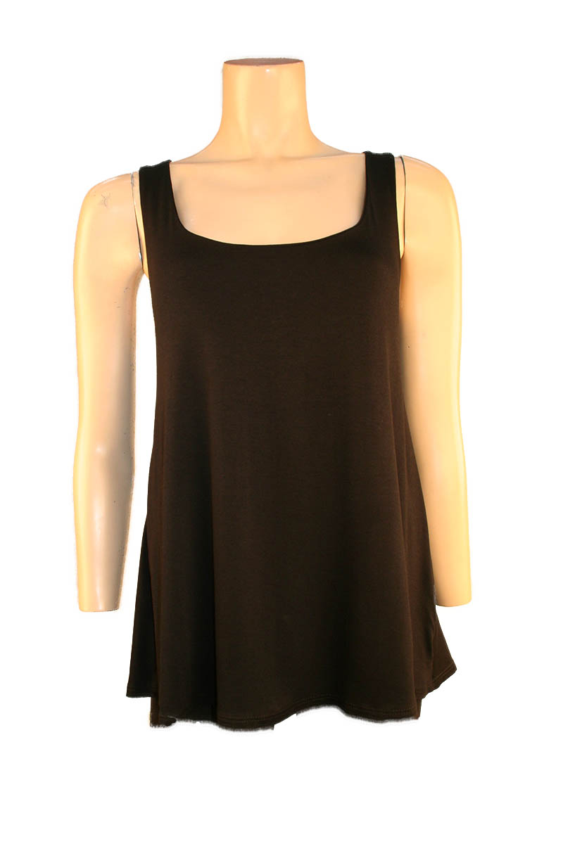 Tank with Twist Back in Black
