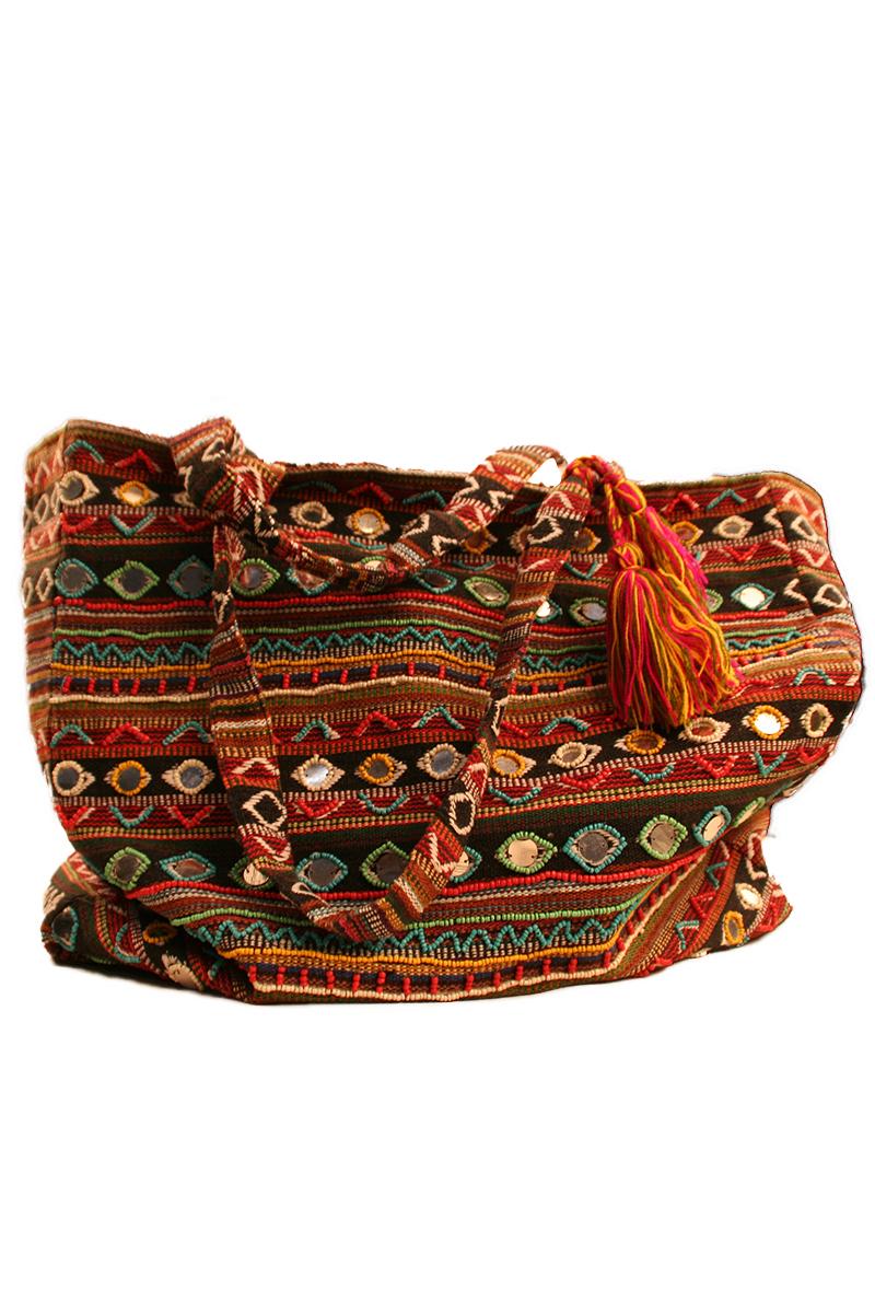 Sulpher Spring Tassel Bag