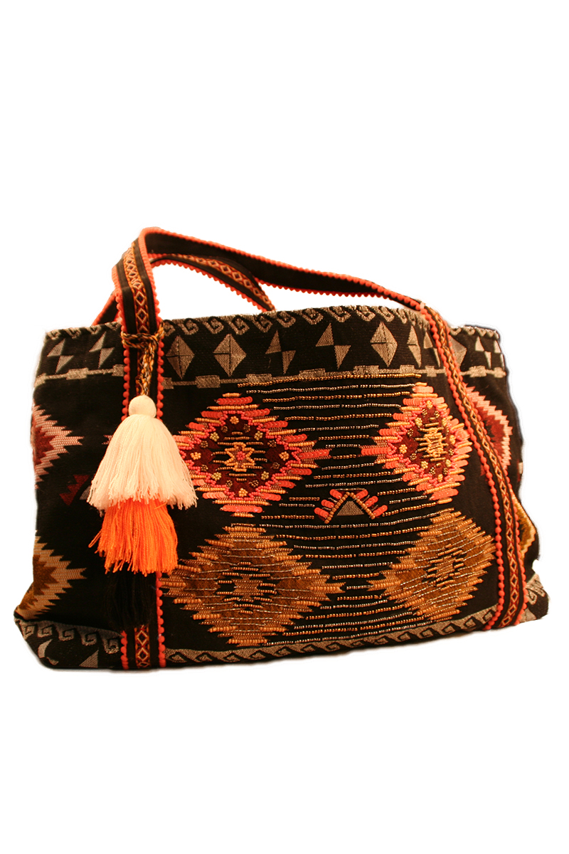 Aztec Jacquard Shoulder Bag