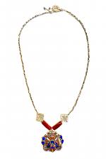Ancient Tibetan Locket Necklace