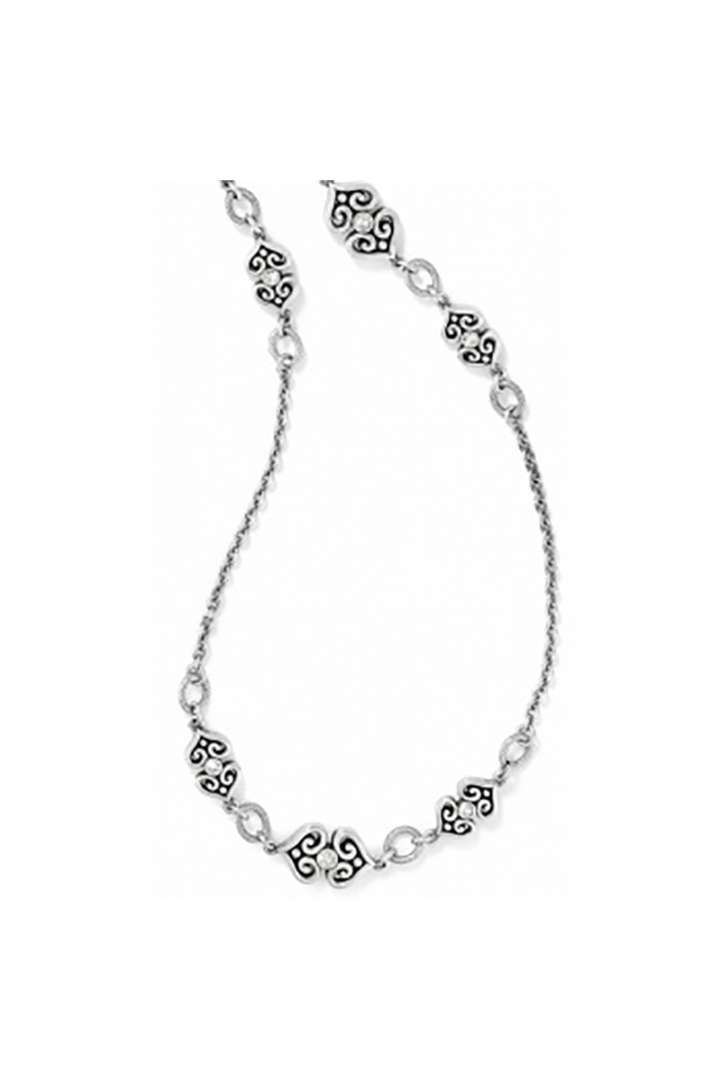 Alcazar Heart Long Necklace
