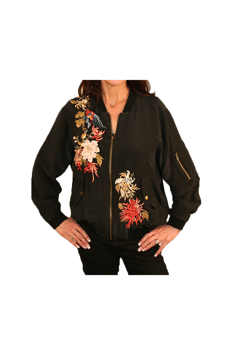 Lalina Bomber Jacket