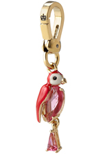 Parrot Charm in Gold