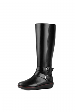 Noemi Double Buckle Knee-High Boots
