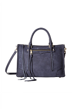 Regan Satchel Tote in Moon