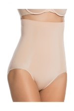OnCore High-Waisted Brief in Soft Nude