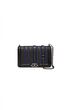 Stripe Love Crossbody in Moon