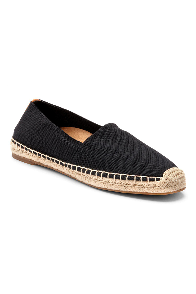 Flat Slip On in Black