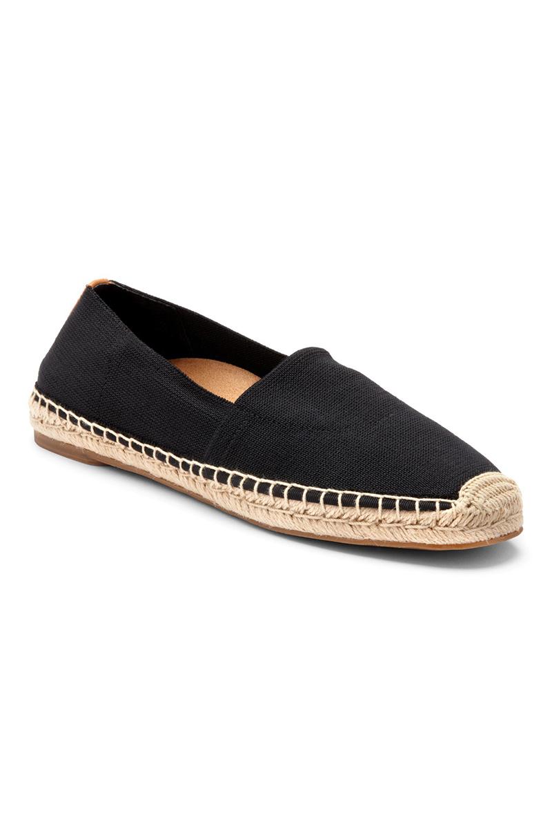 Flat Slip On in Black
